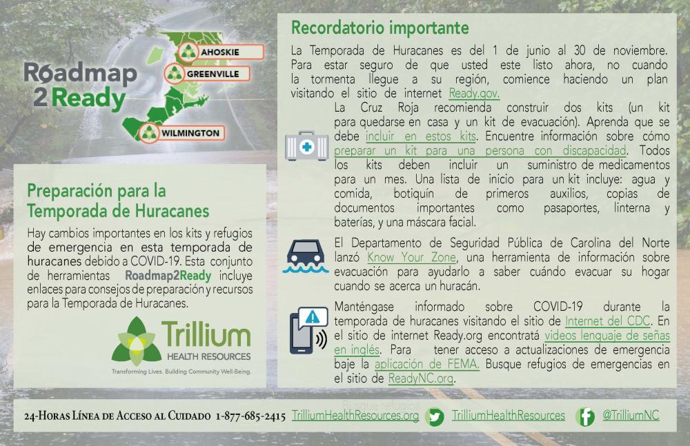 Fondo de una calle inundada con información para preparase