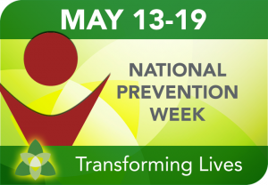 National Prevention Week Image