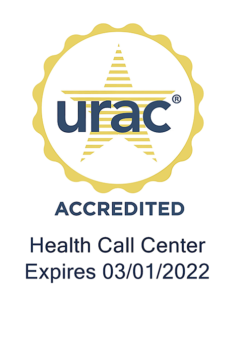 URAC seal Call Center