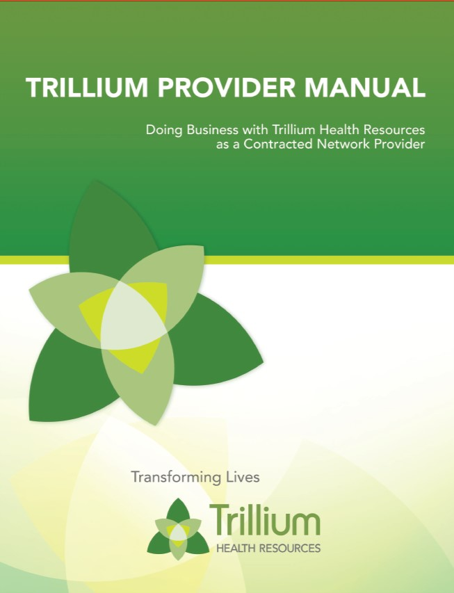 Provider manual Cover Picture